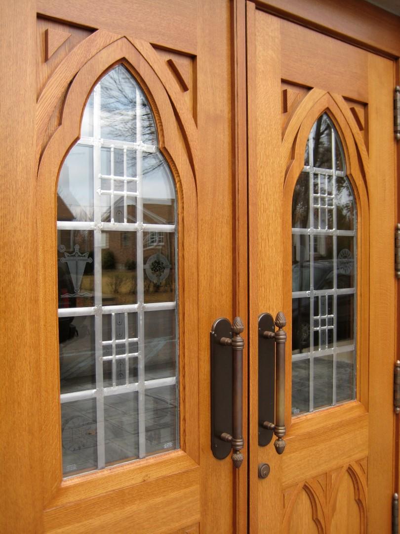 Sacred Heart Church (Florrisant MO) & Church Doors - Custom Wood Doors | Scobis Company